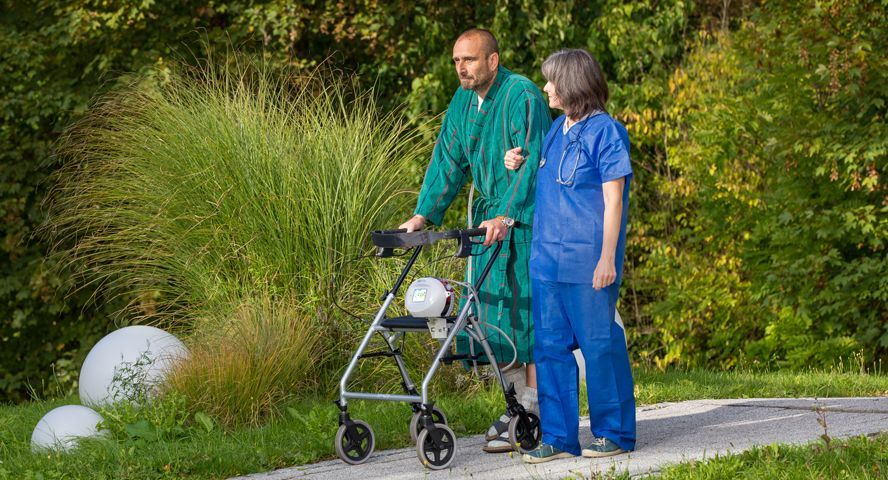 Mobility & comfort for the patient