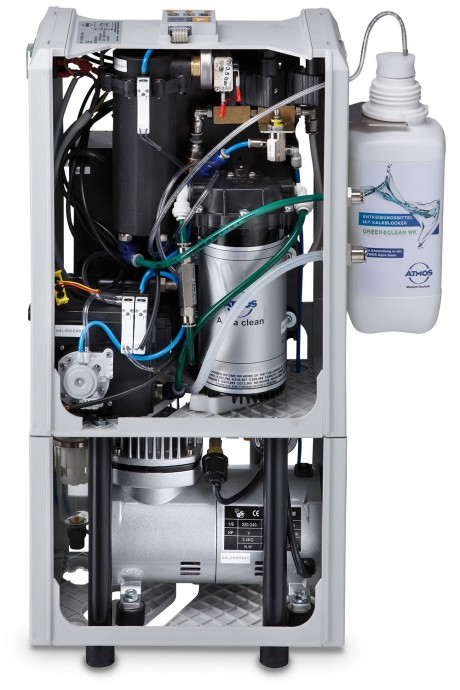 Water separation and decontamination system ATMOS Aqua clean