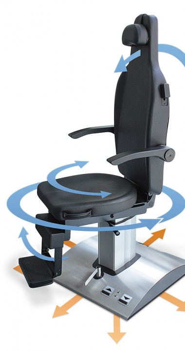 ATMOS Chair E 2 - Mobile yet steady like a rock.